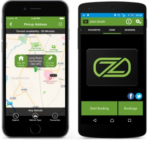 ZedCarZ mobile app