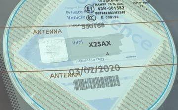 PCO Vehicle Badge