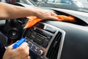 Clean car during covid-19
