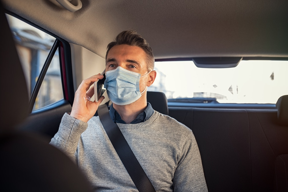 Face coverings in taxis